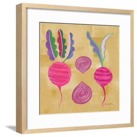 Veggie Time IV-Farida Zaman-Framed Art Print