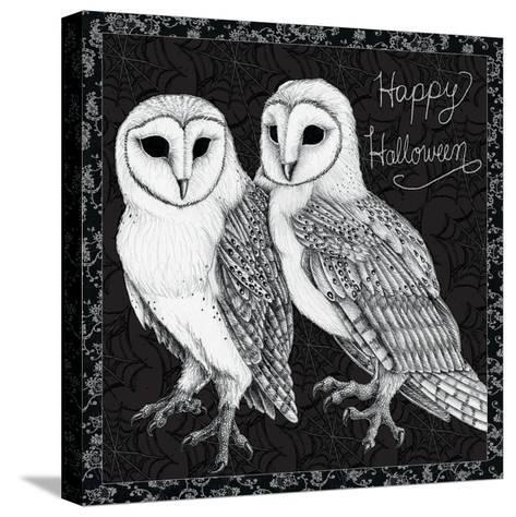 Arsenic and Old Lace Happy Halloween-Elyse DeNeige-Stretched Canvas Print