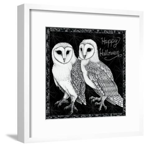 Arsenic and Old Lace Happy Halloween-Elyse DeNeige-Framed Art Print