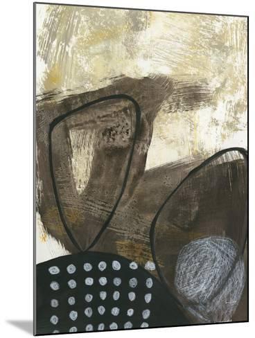 Black and White I-Jane Davies-Mounted Art Print