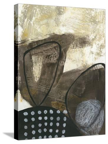 Black and White I-Jane Davies-Stretched Canvas Print