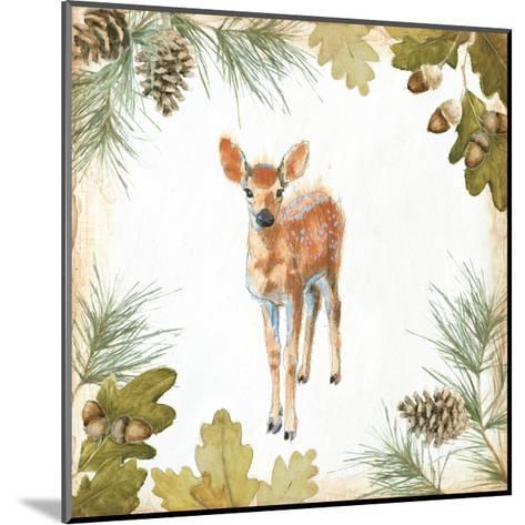 Into the Woods III on White Border-Emily Adams-Mounted Art Print