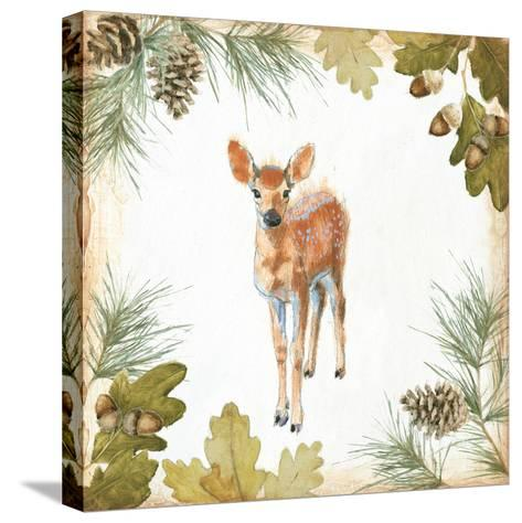 Into the Woods III on White Border-Emily Adams-Stretched Canvas Print
