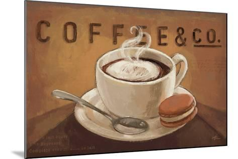Coffee and Co V-Janelle Penner-Mounted Art Print