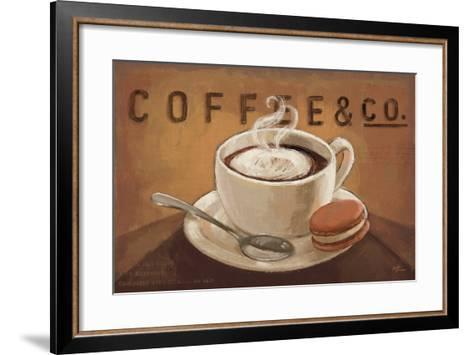 Coffee and Co V-Janelle Penner-Framed Art Print