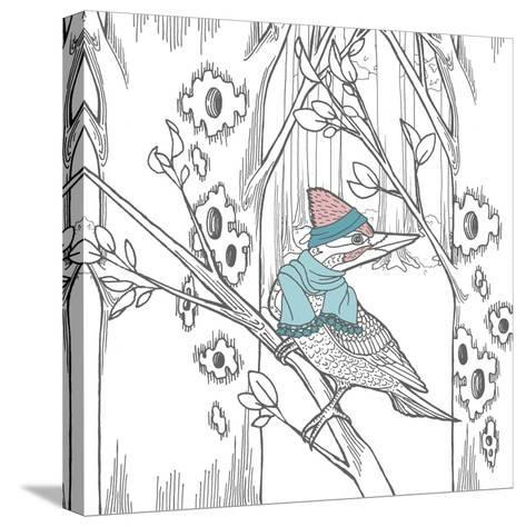 Color the Forest Color XII-Elyse DeNeige-Stretched Canvas Print