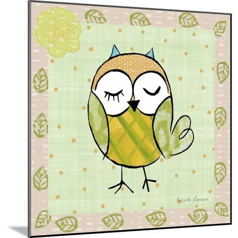 Whimsy Owls II-Farida Zaman-Mounted Art Print