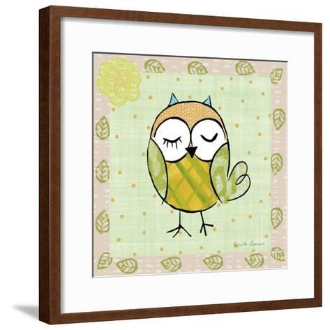 Whimsy Owls II-Farida Zaman-Framed Art Print