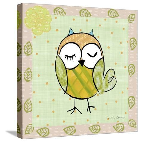 Whimsy Owls II-Farida Zaman-Stretched Canvas Print