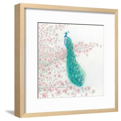 Spring Peacock II-James Wiens-Framed Art Print