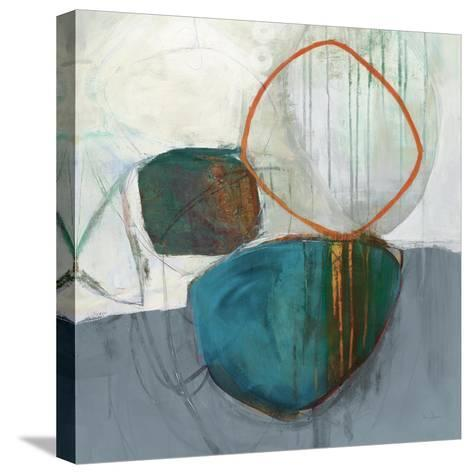 Circle Tower Turquoise Crop-Jane Davies-Stretched Canvas Print