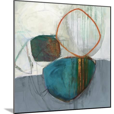 Circle Tower Turquoise Crop-Jane Davies-Mounted Art Print