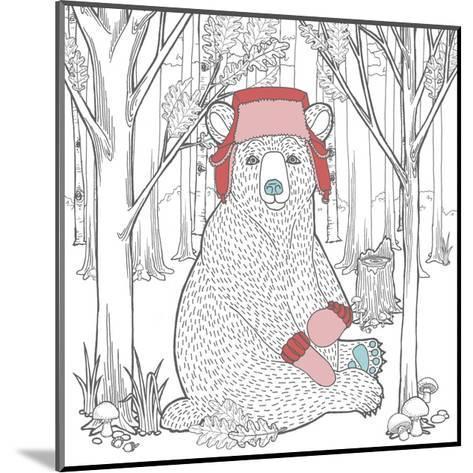 Color the Forest Color I-Elyse DeNeige-Mounted Art Print