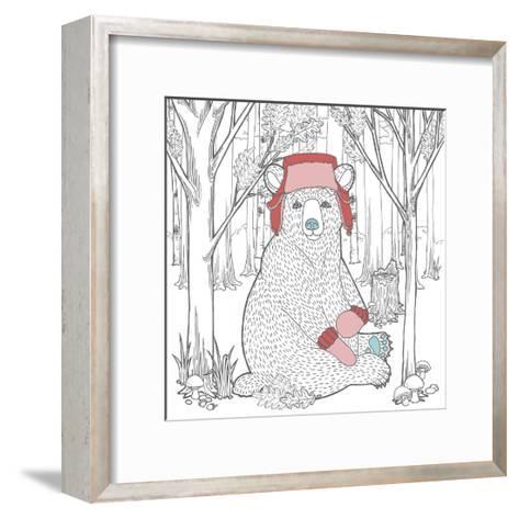 Color the Forest Color I-Elyse DeNeige-Framed Art Print