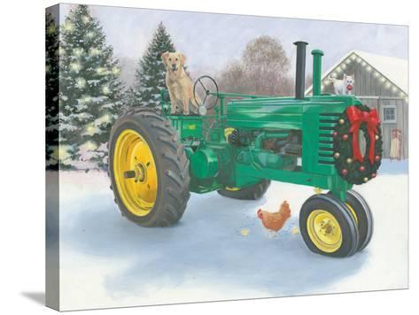 Christmas in the Heartland III-James Wiens-Stretched Canvas Print