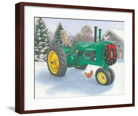 Christmas in the Heartland III-James Wiens-Framed Art Print