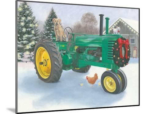 Christmas in the Heartland III-James Wiens-Mounted Art Print