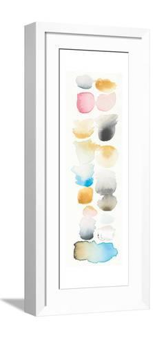 Watercolor Swatch Panel II Bright-Elyse DeNeige-Framed Art Print