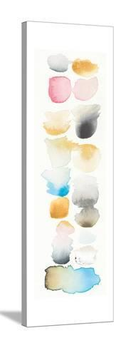 Watercolor Swatch Panel II Bright-Elyse DeNeige-Stretched Canvas Print