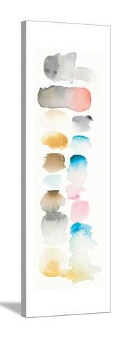 Watercolor Swatch Panel I Bright-Elyse DeNeige-Stretched Canvas Print