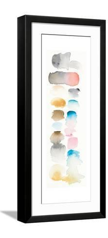 Watercolor Swatch Panel I Bright-Elyse DeNeige-Framed Art Print