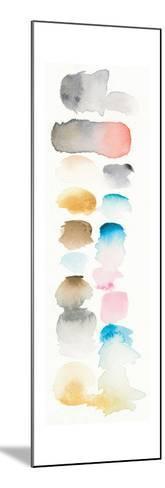 Watercolor Swatch Panel I Bright-Elyse DeNeige-Mounted Art Print