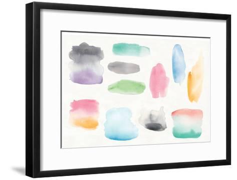 Watercolor Swatch Element-Elyse DeNeige-Framed Art Print