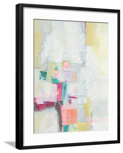 A Day in the City Cool Chromatic-Jane Davies-Framed Art Print
