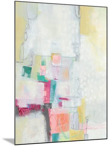 A Day in the City Cool Chromatic-Jane Davies-Mounted Art Print