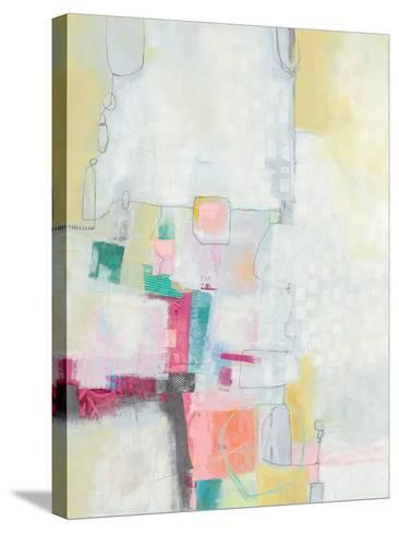 A Day in the City Cool Chromatic-Jane Davies-Stretched Canvas Print