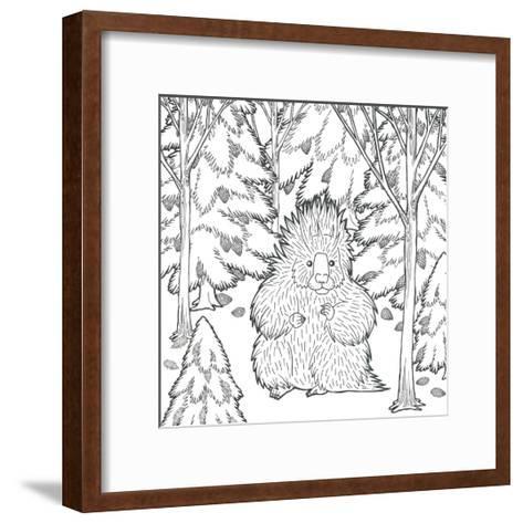 Color the Forest IX-Elyse DeNeige-Framed Art Print