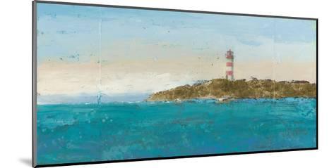 Lighthouse Seascape I-James Wiens-Mounted Art Print