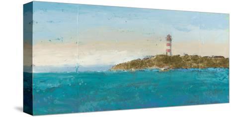 Lighthouse Seascape I-James Wiens-Stretched Canvas Print