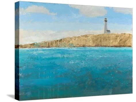 Lighthouse Seascape II-James Wiens-Stretched Canvas Print