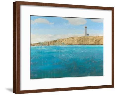 Lighthouse Seascape II-James Wiens-Framed Art Print