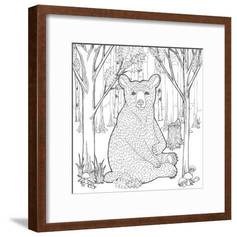 Color the Forest I-Elyse DeNeige-Framed Art Print