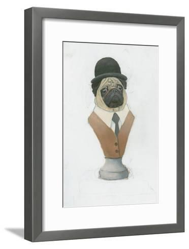 Canine Couture III-Emily Adams-Framed Art Print