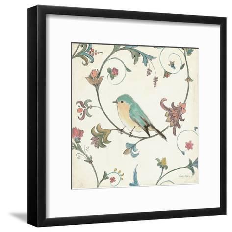 Birds Gem II-Emily Adams-Framed Art Print