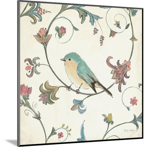 Birds Gem II-Emily Adams-Mounted Art Print