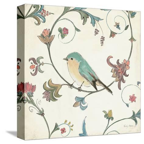 Birds Gem II-Emily Adams-Stretched Canvas Print
