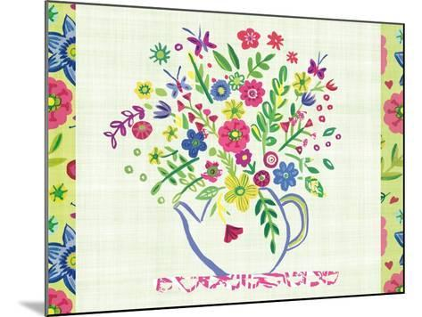 Pastel Summer Florals I-Farida Zaman-Mounted Art Print
