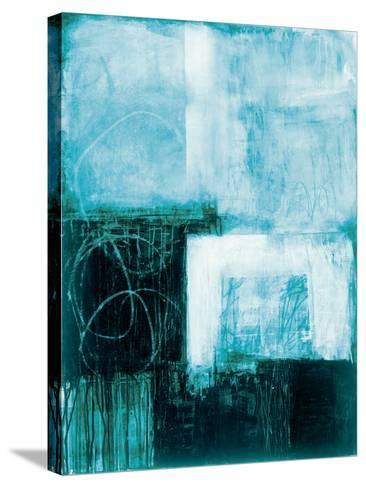 A Wintry Day III Dark Blue-Jane Davies-Stretched Canvas Print