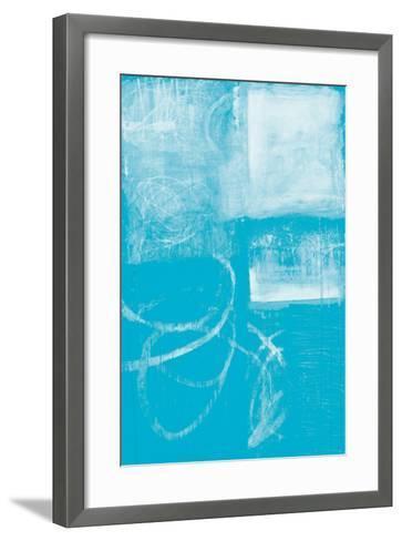 A Wintry Day IV Light Blue-Jane Davies-Framed Art Print