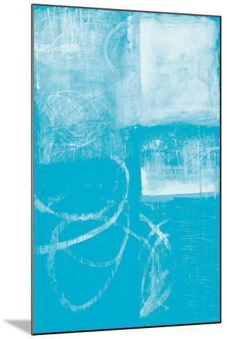 A Wintry Day IV Light Blue-Jane Davies-Mounted Art Print