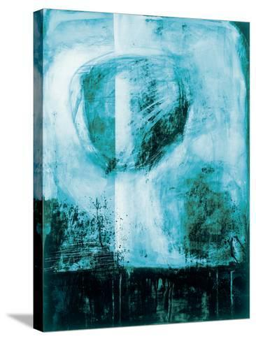 A Wintry Day I Dark Blue-Jane Davies-Stretched Canvas Print