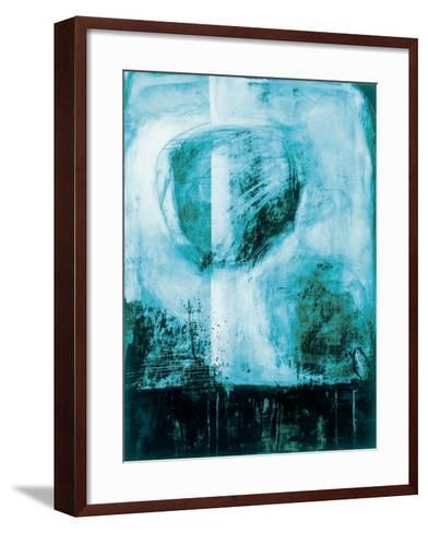 A Wintry Day I Dark Blue-Jane Davies-Framed Art Print