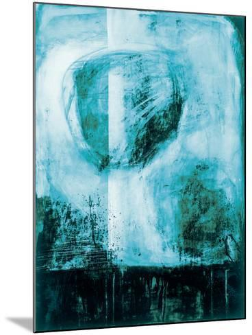 A Wintry Day I Dark Blue-Jane Davies-Mounted Art Print