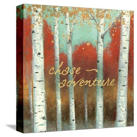 Fall Promenade II-James Wiens-Stretched Canvas Print