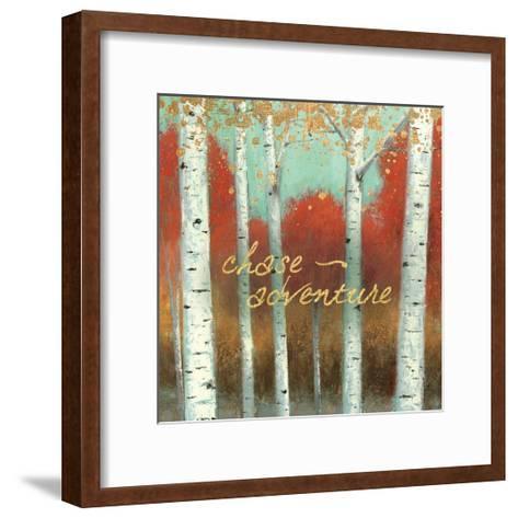 Fall Promenade II-James Wiens-Framed Art Print