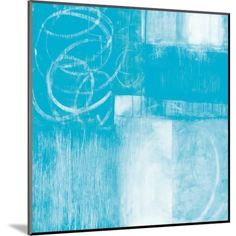 A Wintry Day II Light Blue-Jane Davies-Mounted Art Print